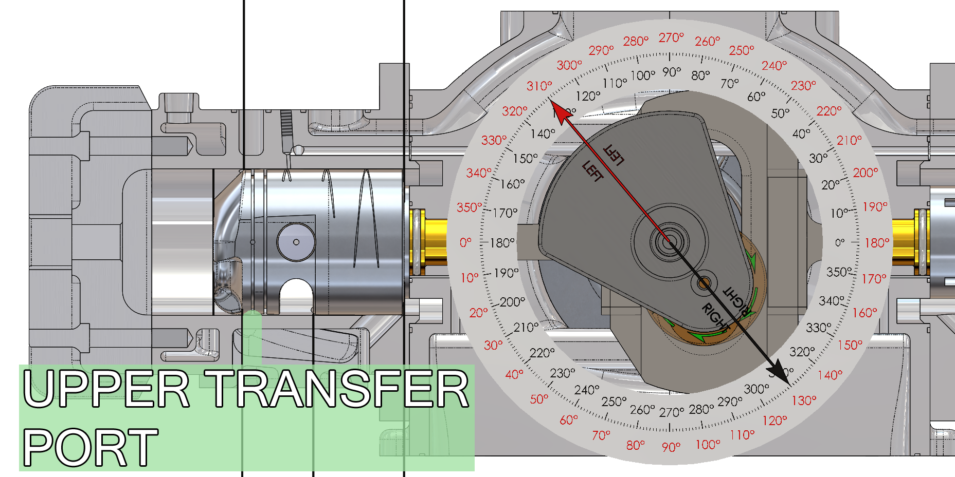 Upper Transfer Ports